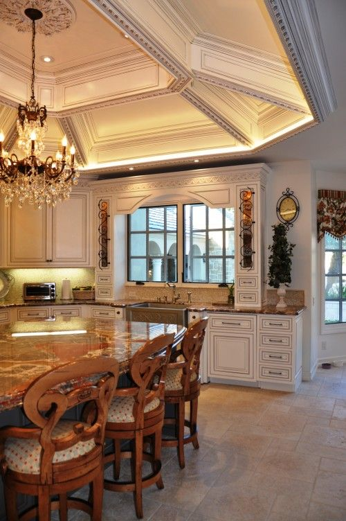Ceiling: Kitchens, Idea, Traditional Kitchen, Kitchen Design, Ceilings, Design Moe