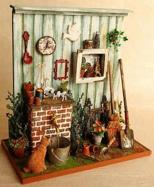 Miniatura tiempo Dollhouse de COCO -                                                                                                                                                                                 Daha fazlası
