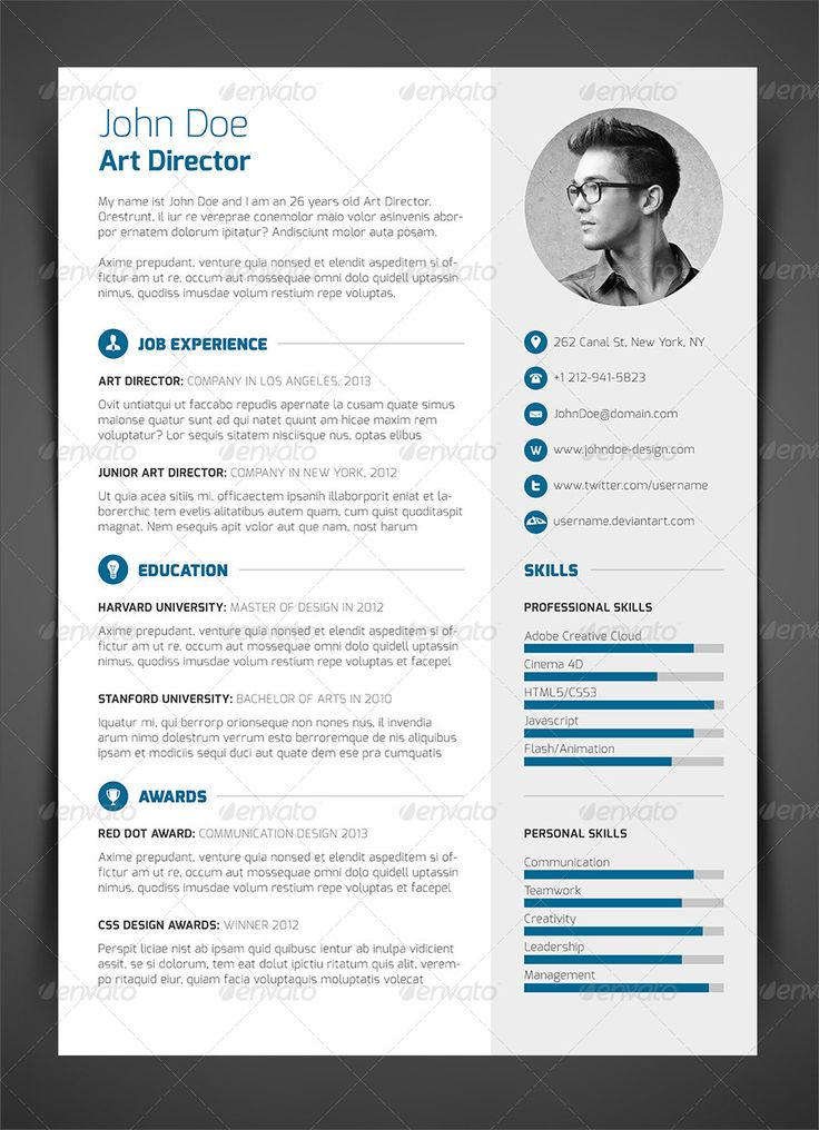 18 best cv images on Pinterest Resume design, Creative - personal resume website example