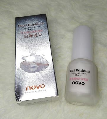 [ ღ CollabReview ღ ] primer viso Shell Brightens by Novo Born Pretty Store - Lory's Beauty Corner