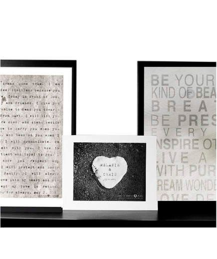 Romantic Christmas Gifts for a Husband | Poetry Typewriter Print