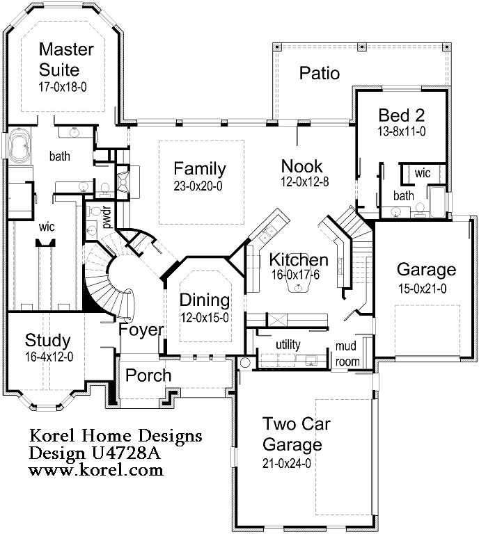 17 best images about floor plans on pinterest luxury for Korel home designs