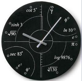 Recopilación de relojes matemáticos - Gaussianos   Gaussianos