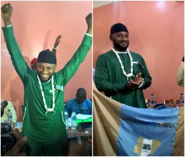 Popular Nollywood actor, Yul Edochie, on Thursday emerged flag bearer for Democratic People's Congress party for the upcoming Anambra state gubernatorial election.Yul Edochie wins Democratic People's Congress primary election. Shortly after the primary election was held yesterday, Edochie... #naijamusic #naija #naijafm