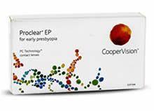 Proclear EP is speciaal ontworpen voor mensen die voor het eerste last krijgen om kleine lettertjes te lezen en voorwerpen dichtbij te zien. Dat zijn de signalen van presbyopie - een natuurlijk verouderingsproces van het oog.