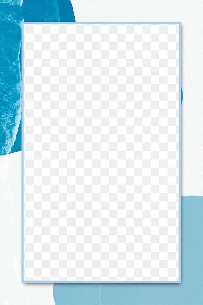 Acrylic Texture Frame Png Blue Background Free Image By Rawpixel Com Karn Blue Frames Blue Backgrounds Free Illustrations