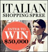 Italian Shopping Spree Sweepstakes - Harper's BAZAAR
