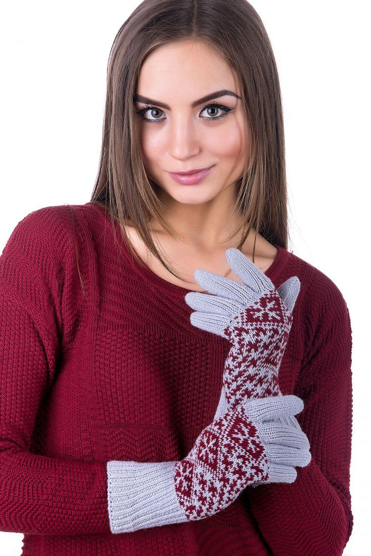 купить вязаные перчатки ТМ Наталка Харьков