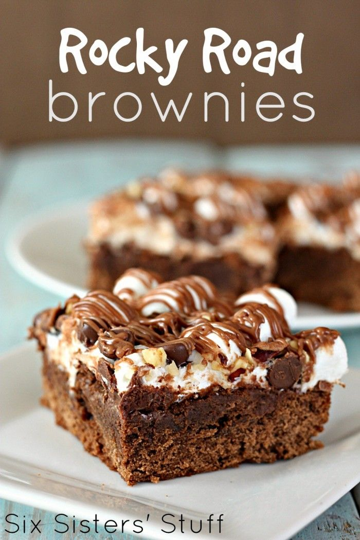 Rocky Road Brownies Recipe on MyRecipeMagic.com