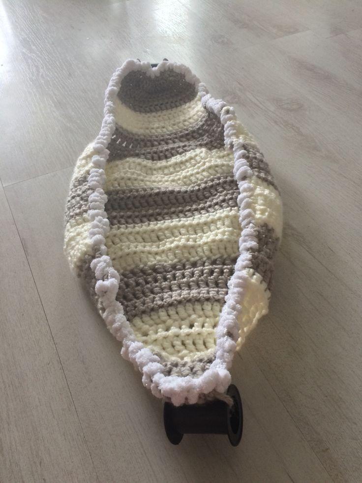 Gehaakte hangmat (new born) baby fotografie