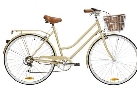 6 Speed Coffee Vintage Ladies Bike by Reid Cycles