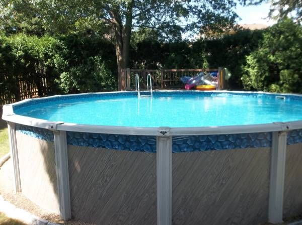 This is an 18 ft round pool i like the deck this is my for Pool deck design tool
