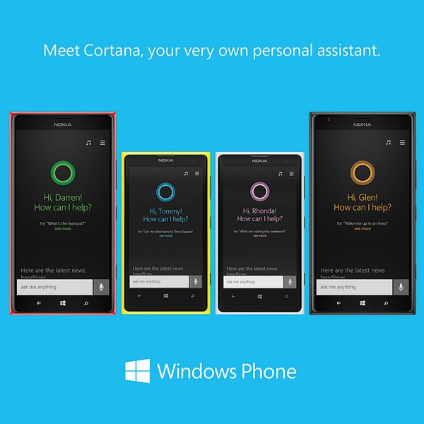 Our very own personal assistant, Cortana.