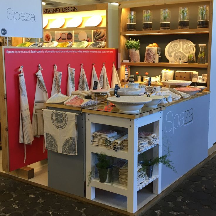 Spaza Store in The Watershed at the V&A Waterfront, Cape Town, South Africa has had a make over! Oh but you can buy Spaza's functional house goodies on Etsy. Hurray!