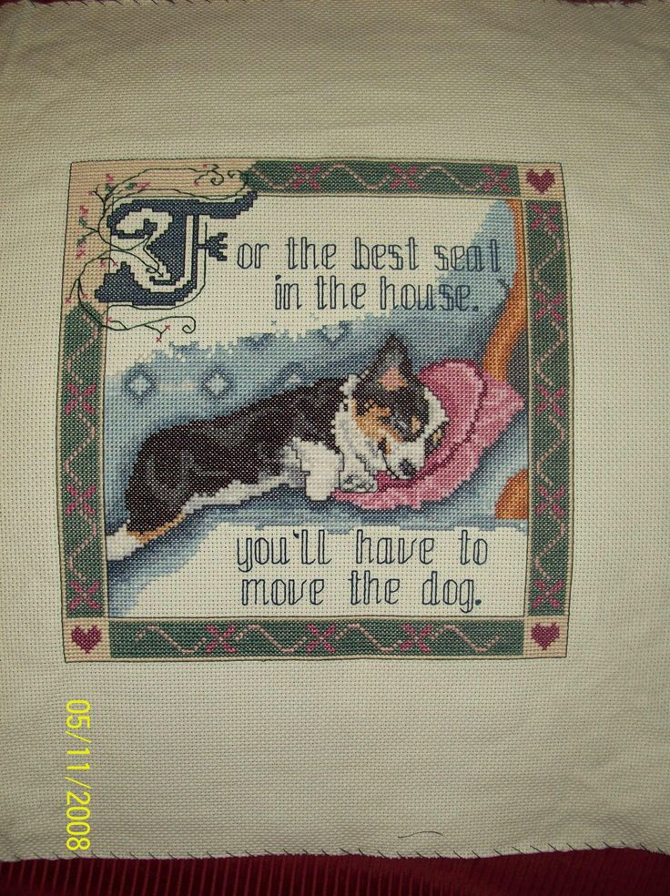 This was turned into a pillow for the Ohio Corgi Picnic charity auction for Corgi Rescue