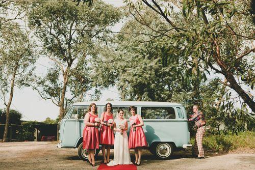 Anna and Brad's Kombi Wedding #kombilove