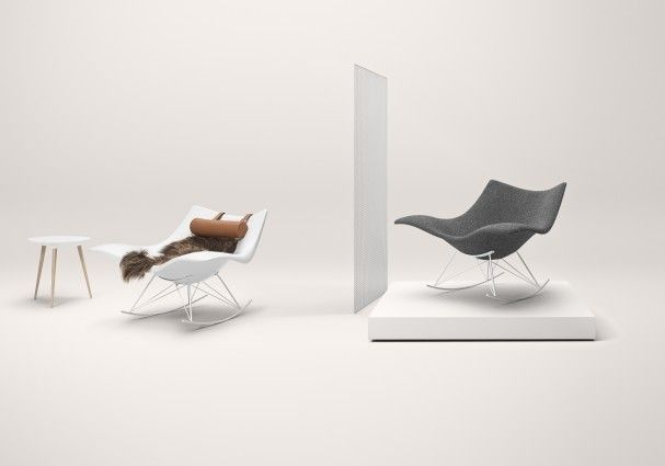 The Stingray chair designed by Thomas Pedersen for Fredericia Furniture