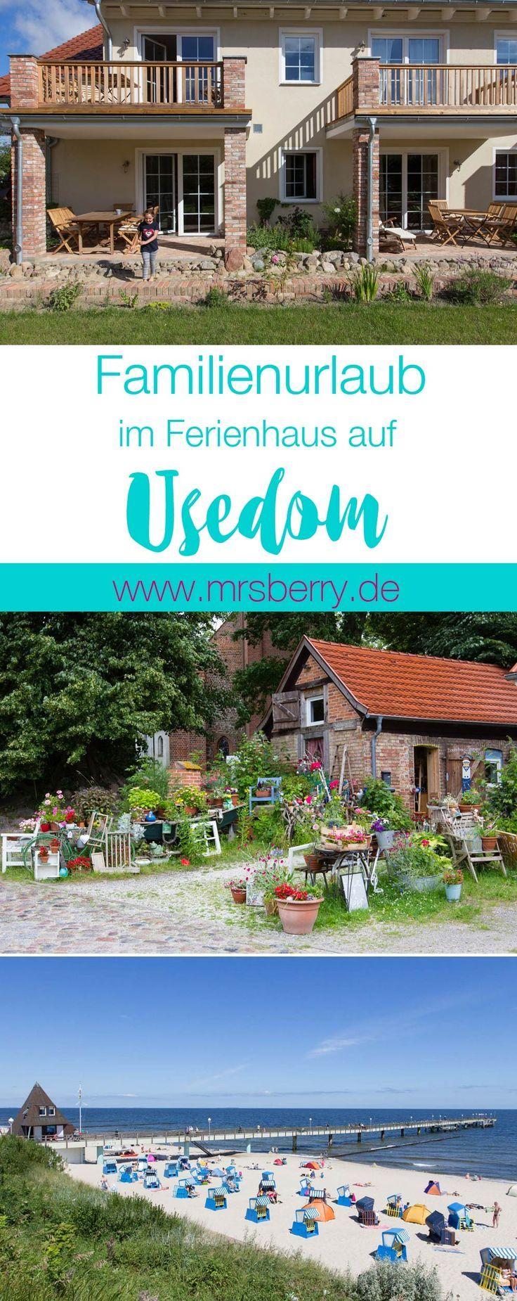 Familienurlaub an der Ostsee - im Ferienhaus auf Insel Usedom | Tipps zur Reise auf https://mrsberry.de