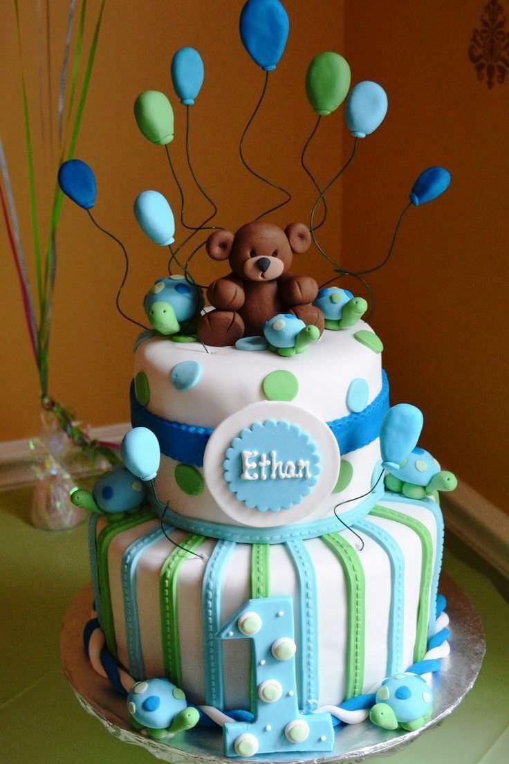 birthday baby cake boy ideas
