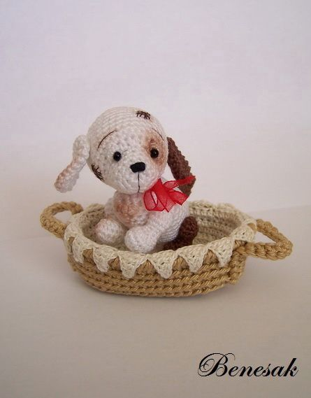 puppy in basket hi I will pin items I like for I make and donate all items or for family I do not see thing been there and getting to old I do this full time because there are kids and there moms that have nothing so this is my way to give back and it gives much joy please maybe you have more can you send please thank you