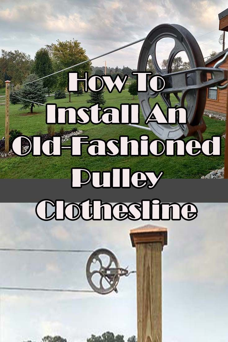 Old Fashioned Pulley