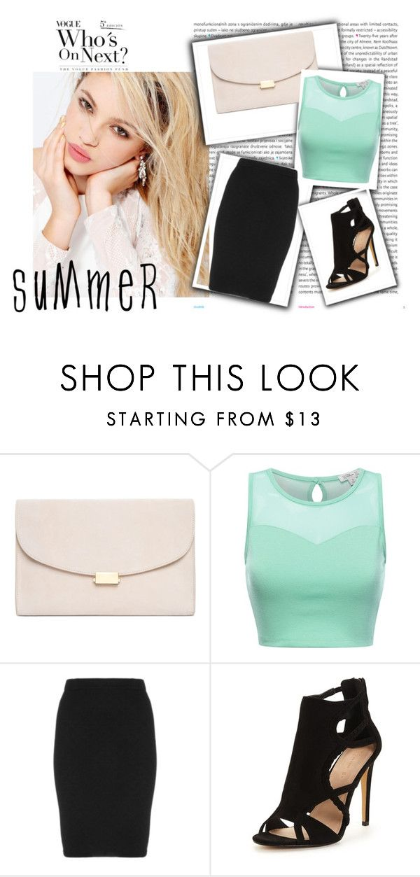 """""""summer business outfit"""" by adna-00 ❤ liked on Polyvore featuring Oris, Silvana, Mansur Gavriel and Manon Baptiste"""
