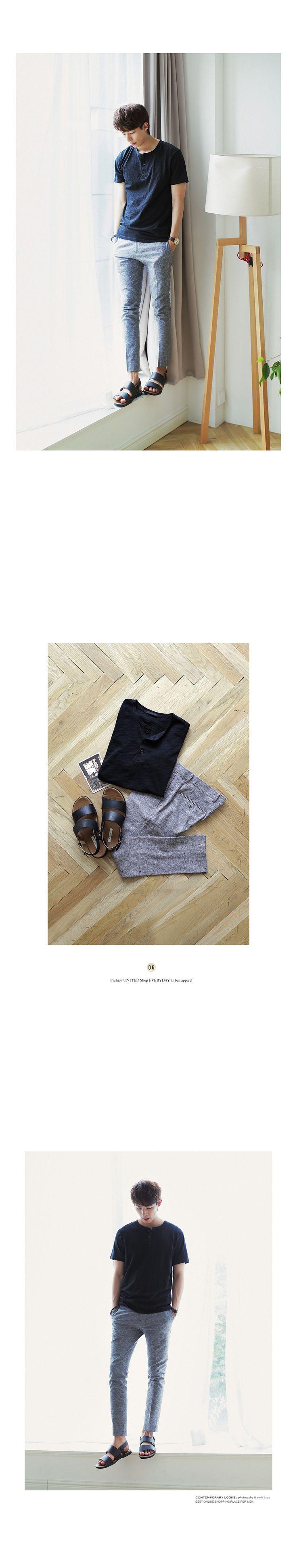 *Asterr.*リネン混紡素材ぼかしデザインスラックスパンツ・全4色パンツ・ズボンパンツ・ズボン通販 | メンズファッション 通販サイト【ディーホリックメンズ DHOLIC MEN'S】