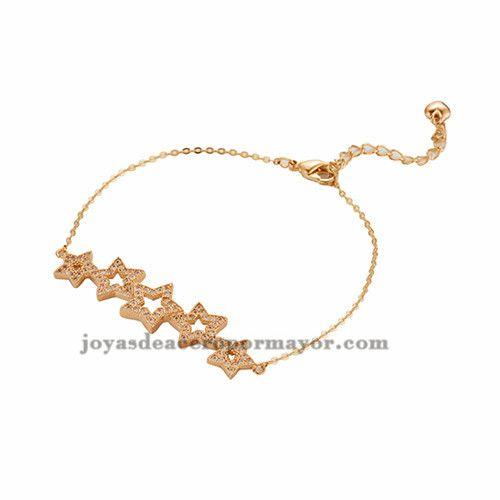 pulsera oro rosado para mujer BRBTG88094