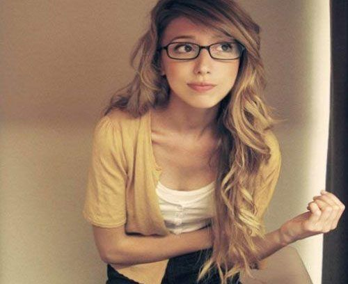 Girls Wearing Glasses – Learn How To Look Prettier With Glasses More