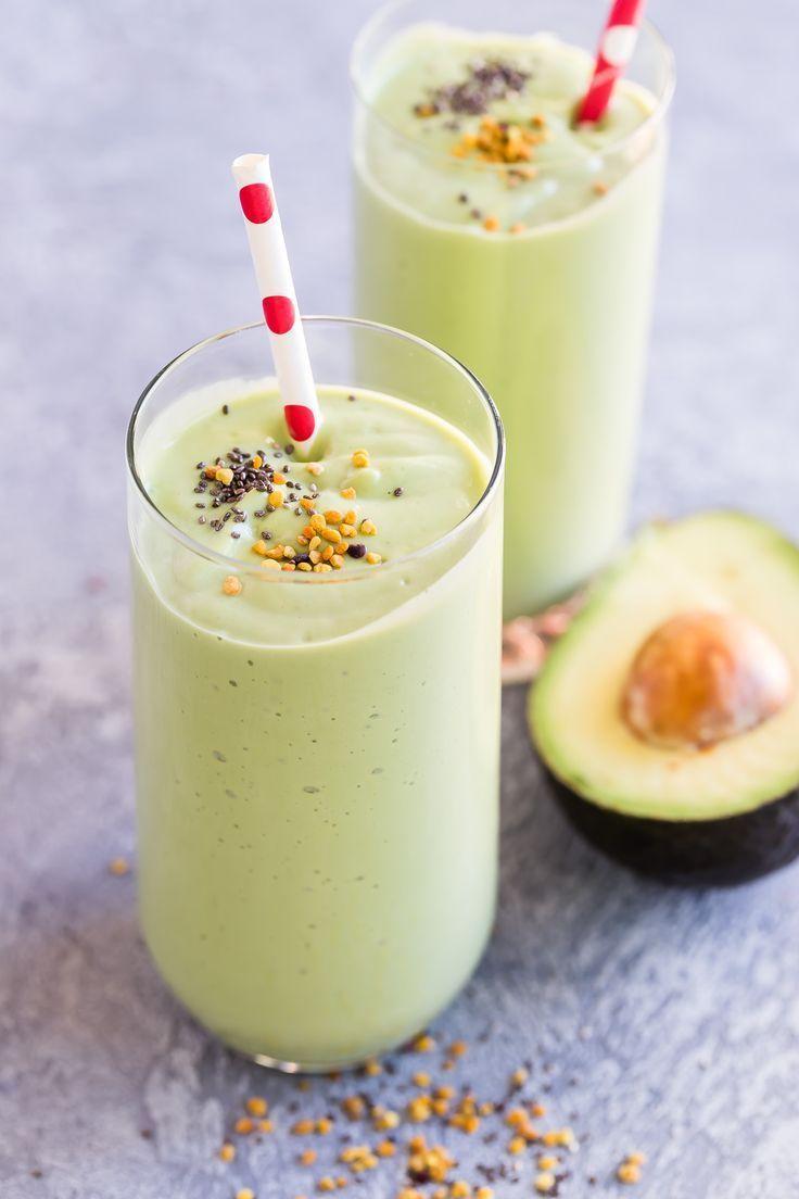 Vanilla Avocado Greens Smoothie | Recipe | Smoothie recipes, Healthy  smoothies, Smoothies