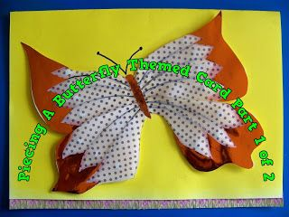 A Pretty Talent Blog: Cardmaking: Paper Piecing Your Designs Part 1
