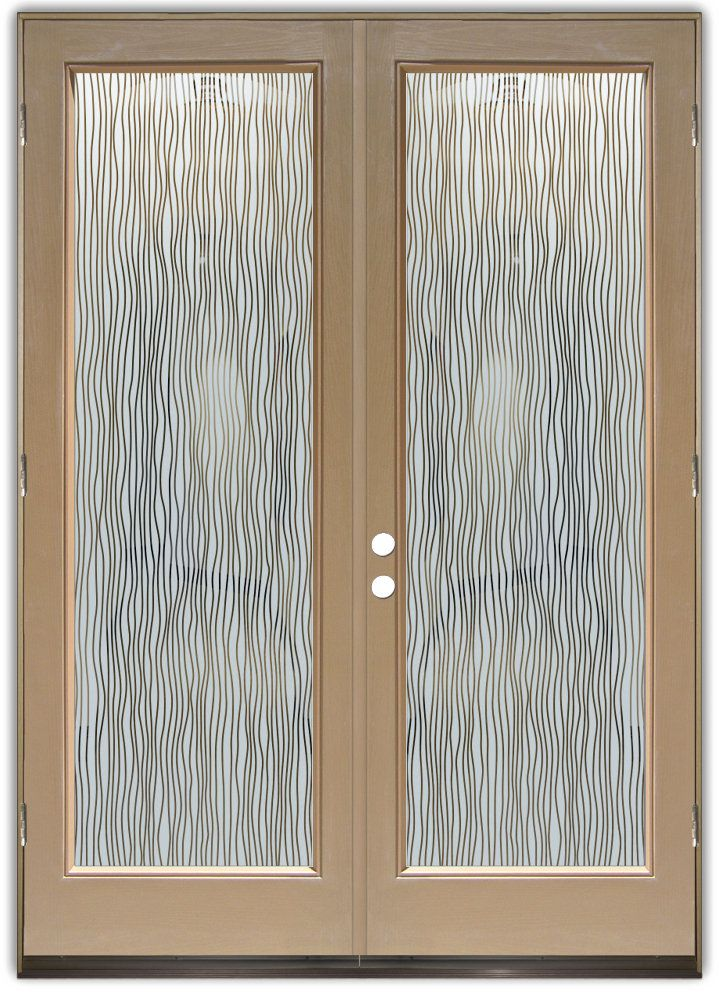 20 best images about glass door on pinterest banana for Etched glass doors