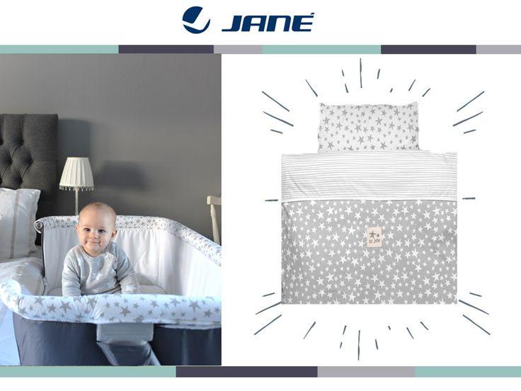 Jane Λίκνο Baby Side Stars (Περιλαμβάνει στρώμα, πάπλωμα, μαξιλάρι και κατωσέντονο) #baby #babyside #BabyCare #nursery
