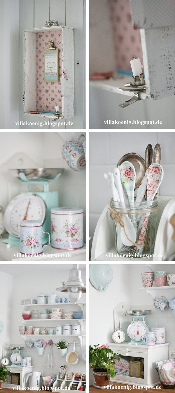 1100 best greengate images on pinterest dinnerware for Cath kidston kitchen ideas