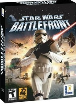 Star Wars: Battlefront. This game is also awesome! One of my favorite games ever!