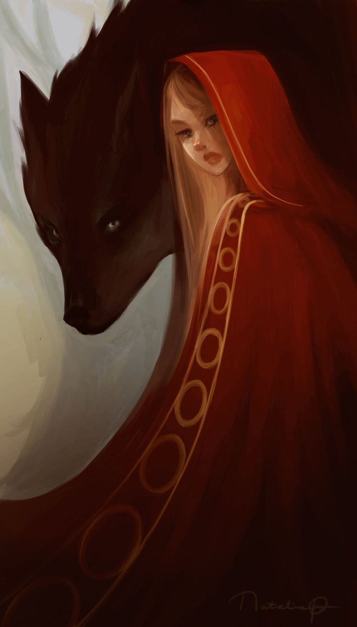 Red Riding Hood by Natalia Ross / MintScribble