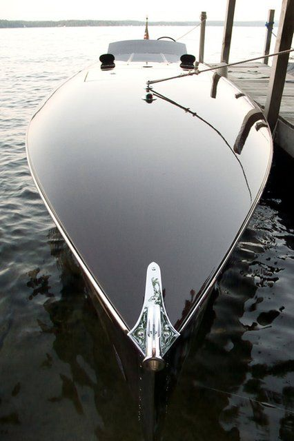 Amazing Sleek Yacht Design. #boatsdotcom