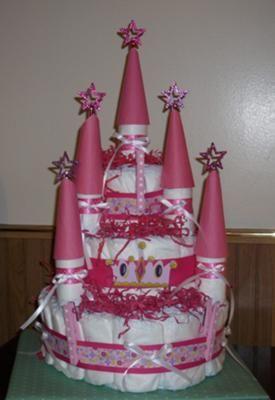 http://paneamoreecreativita.it/blog/2010/09/come-fare-una-torta-di-pannolini-a-forma-di-castello/