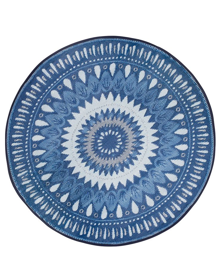 RUT ROUND RUG matta | Plastic rug | PlasticRug | Mattor | Inredning | Indiska.com