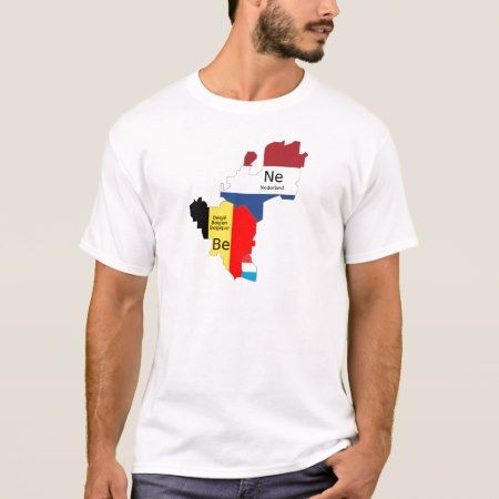 Benelux map T-Shirt - click to get yours right now!