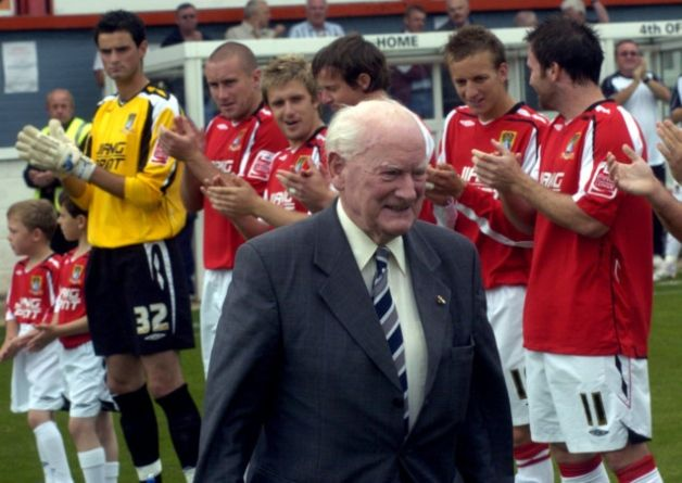 Morecambe FC have joined the football world in paying tribute to the late, great Sir Tom Finney following his death at the age of 91.
