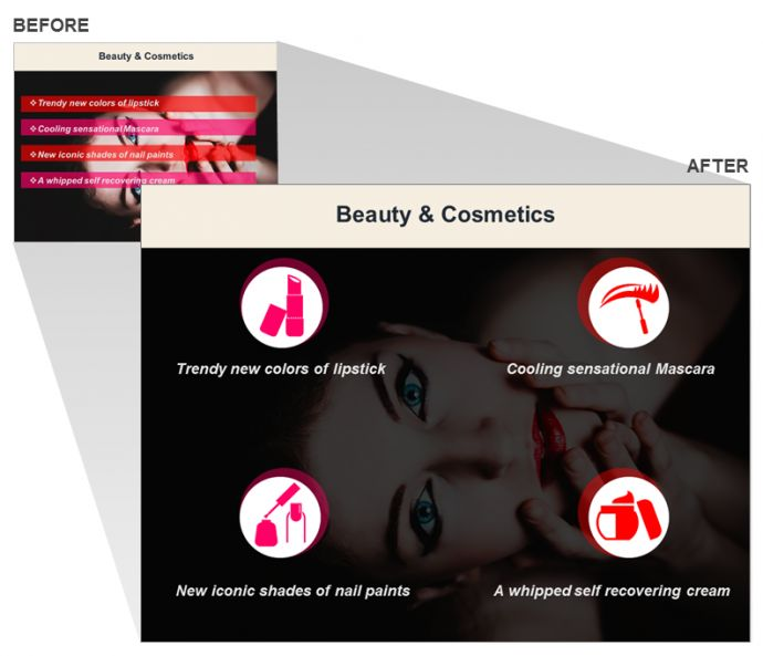 Beauty and Cosmetics Slide