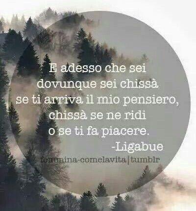 Immagine tramite We Heart It #lucianoligabue