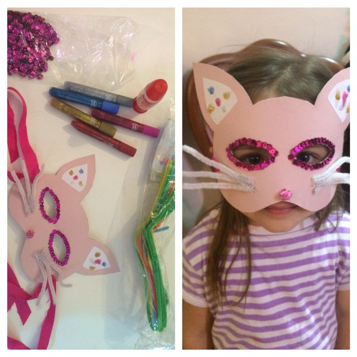 #diy #cat #mask #partyatschool