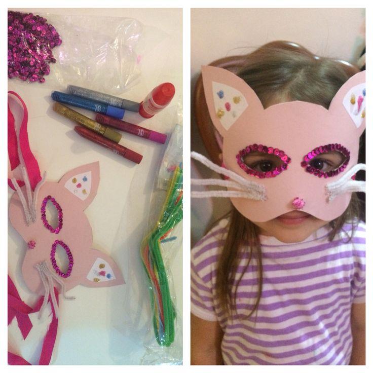 #diy #cat #mask #partyatschool
