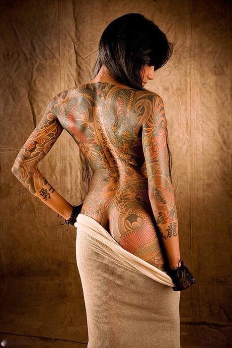 japanese tattoo.... Beautifully done wow!!!!