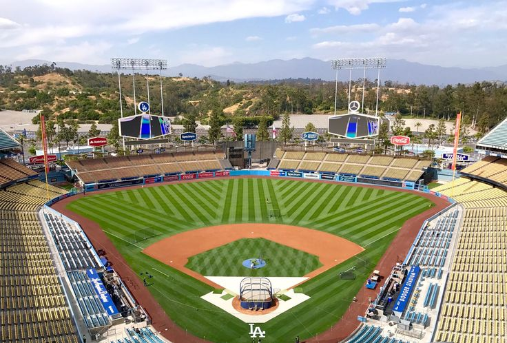 Dodger Stadium....first ever ballpark back when I was probably 11, to were I fell in love with the game❤️⚾️