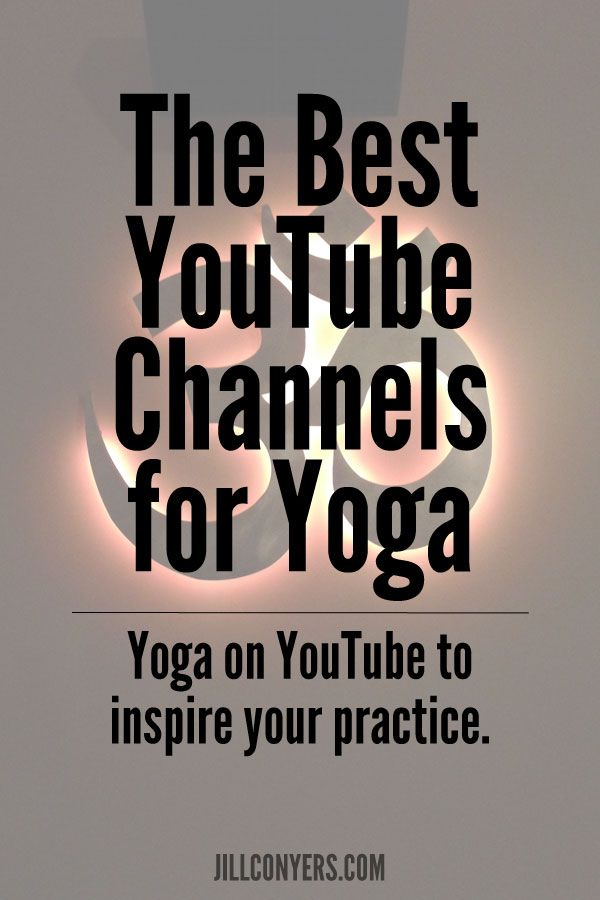 A guide to some of the best YouTube channels for yoga.