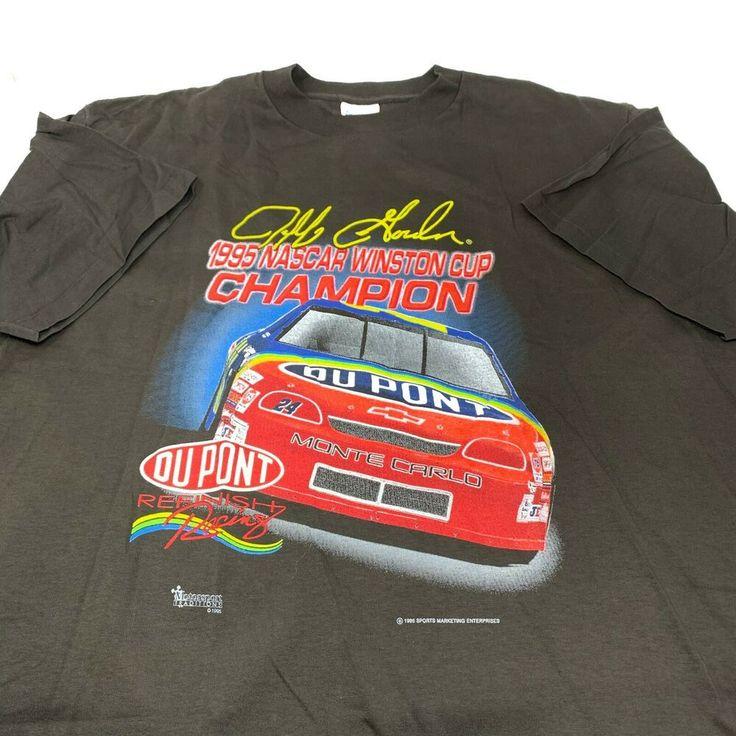 Jeff Gordon No. 24 DuPont 1995 NASCAR Cup Champion 2XL T ...