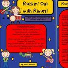 Rockin' Out with Rimes! ELA Game for practice of Onsets and Rimes! by Annie Sauriol  Included in this file: -Directions for the game with examples ...
